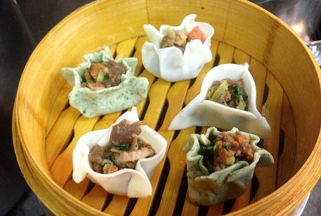 Дим-самы с тушеной говядиной - китайские пельмени рецепт