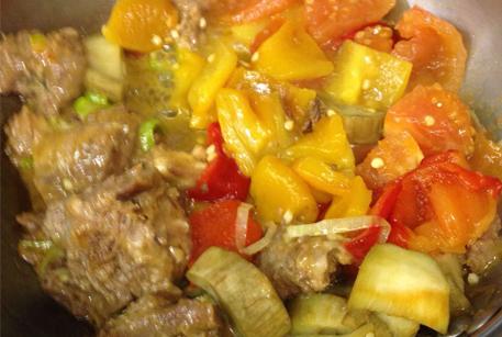 Рецепт с фото мясо с тушенкой