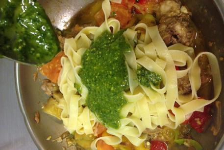 Фетучини с овощами рецепт с фото
