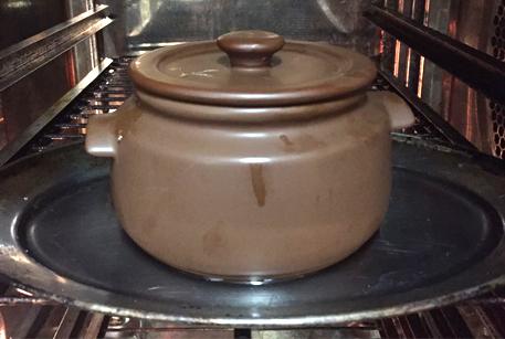 Говядина в горшочке в духовке рецепт