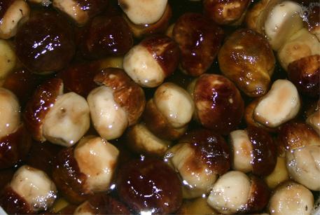 Грибы с курицей и картошкой