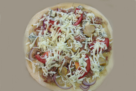 Пицца в духовке с говядиной «Вителло Тоннато»