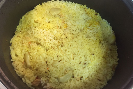 Рецепт с фото от шеф повара – рис с курицей