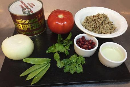 Купить тушенку из баранины для рецепта фаршированного помидора.