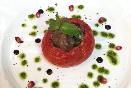 Рецепт фаршированного помидора в духовке