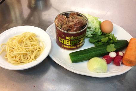 Ингредиенты для супа кукси