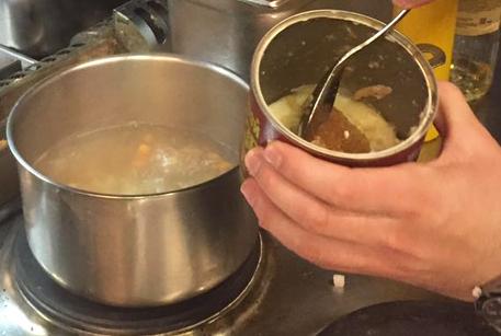 Тушенка из говядины Войсковой Спецрезерв для супа с фрикадельками