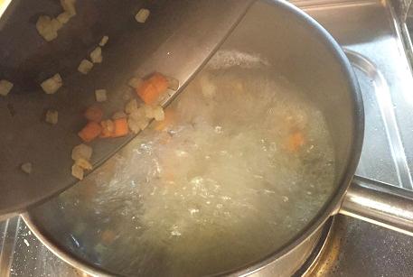 Суп с картофелем и фрикадельками