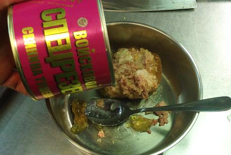 Тушенка из свинины для запеканки в духовке