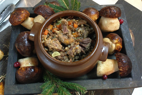 рецепты горшочков в духовке с говядиной и грибами