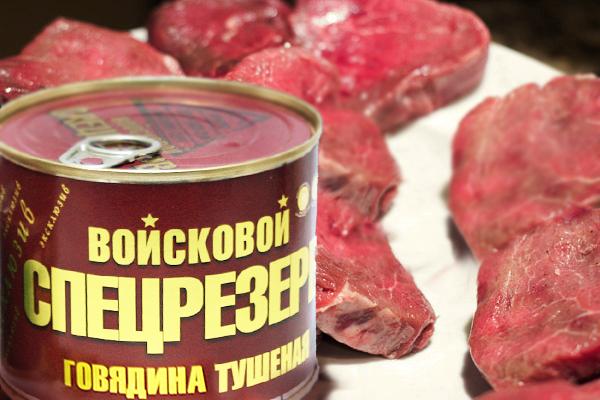 Тушеное мясо – качественная тушенка ГОСТ